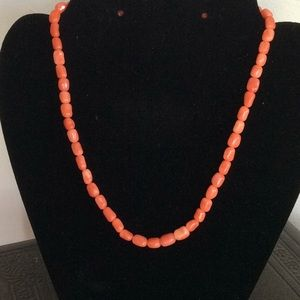 Jewelry - Coral Necklace 14k clasp